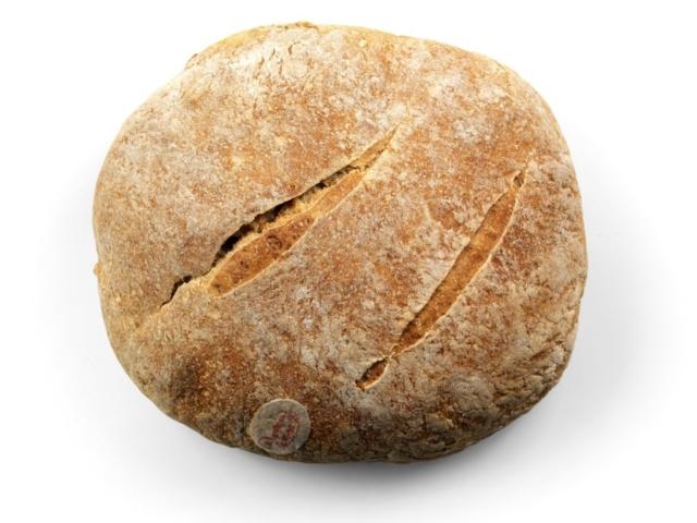 Pane cuscinetto tondo semi integrale